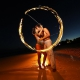 amazing maternity photo circle of fire around mother and father venus the north star fertility spirituality