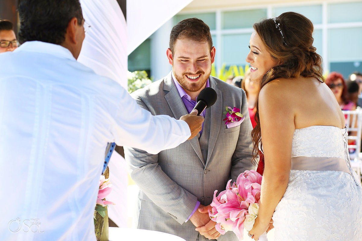 vow exchange destination wedding Now Jade Puerto Morelos Mexico