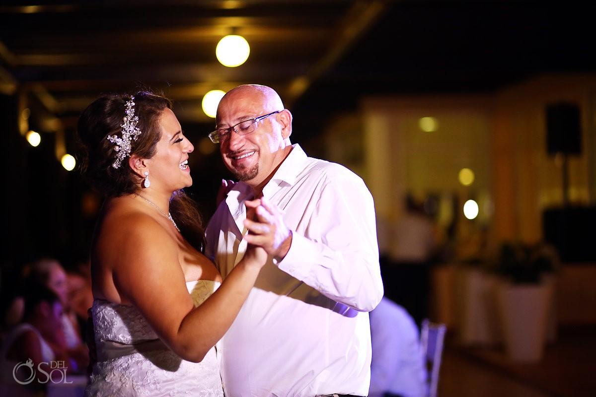 first dance destination wedding reception Now Jade Puerto Morelos Mexico