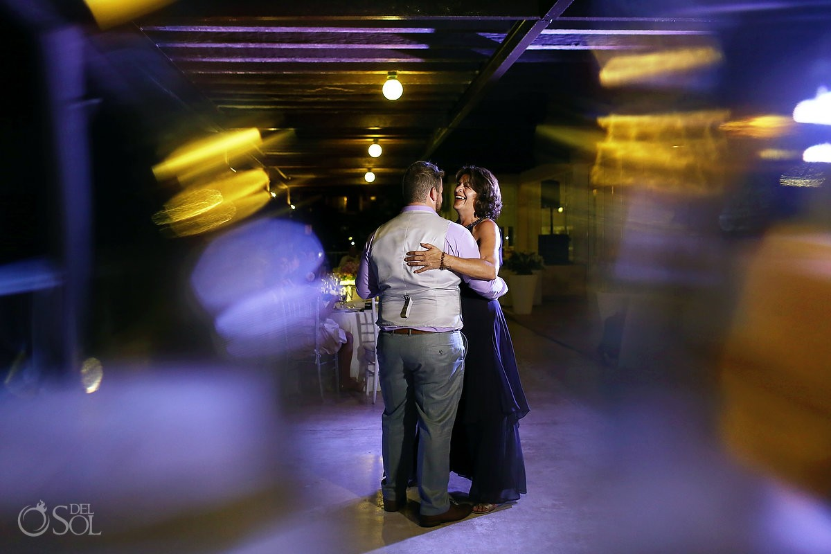 first dance destination wedding reception Now Jade Puerto Morelos Mexico