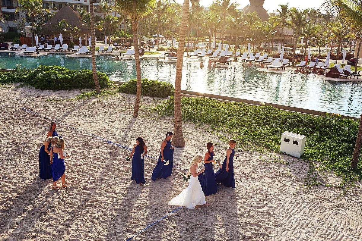 Bridemaids dress ideas destination wedding Secrets Akumal Riviera Maya Mexico