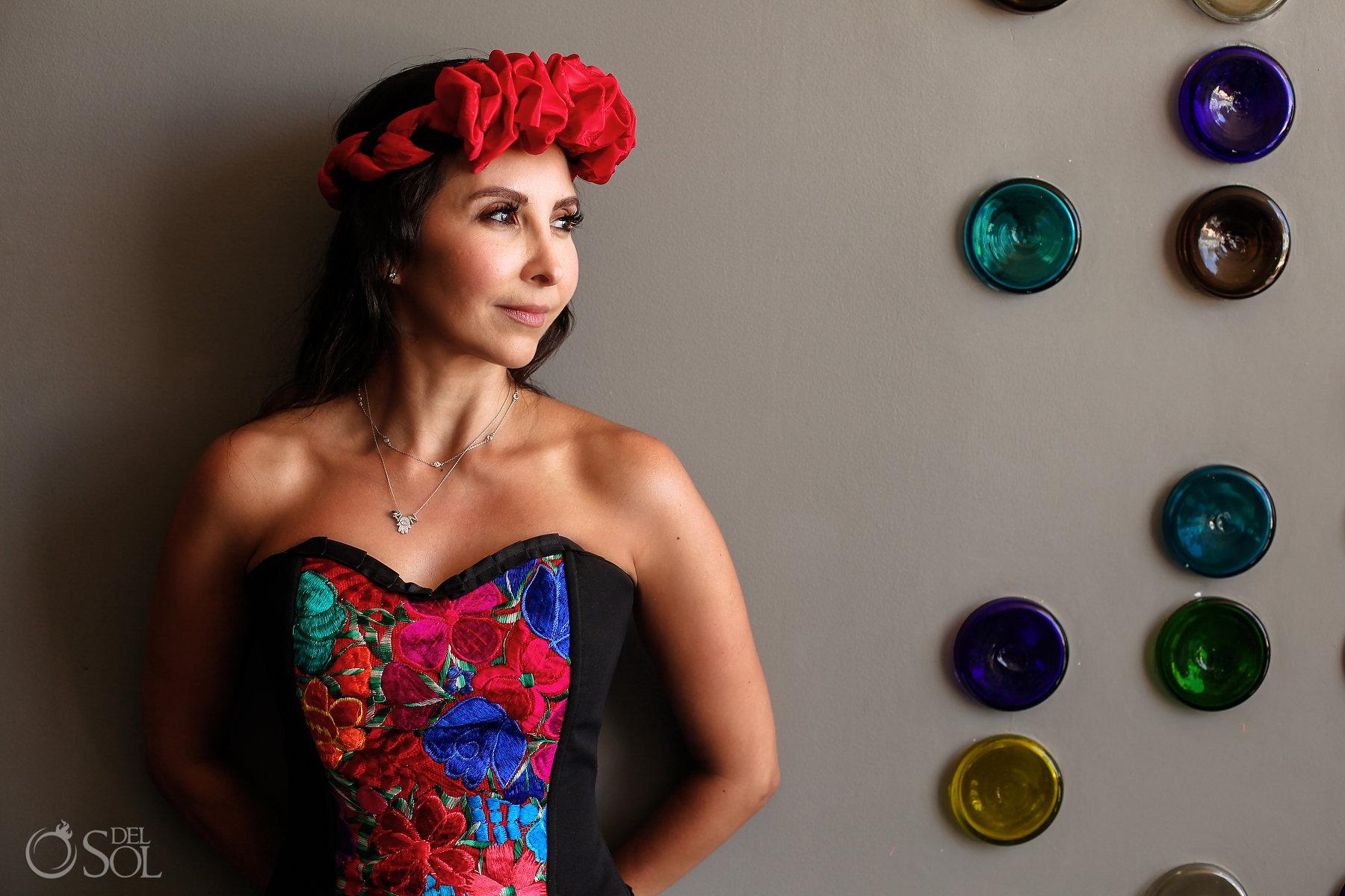 el closet de Frida es un concepto creado por del Sol Photography para Andaz Mayakoba
