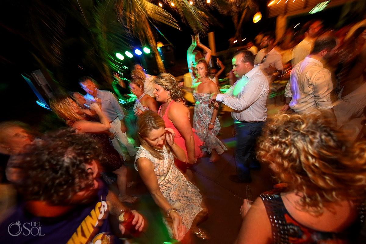 destination wedding reception Playa del Carmen Boutique hotel Viceroy Riviera Maya