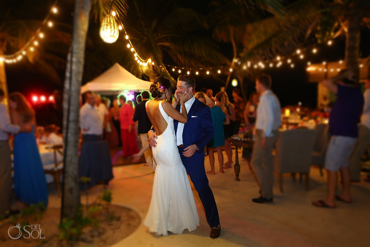 destination wedding reception Playa del Carmen Boutique hotel Viceroy Riviera Maya