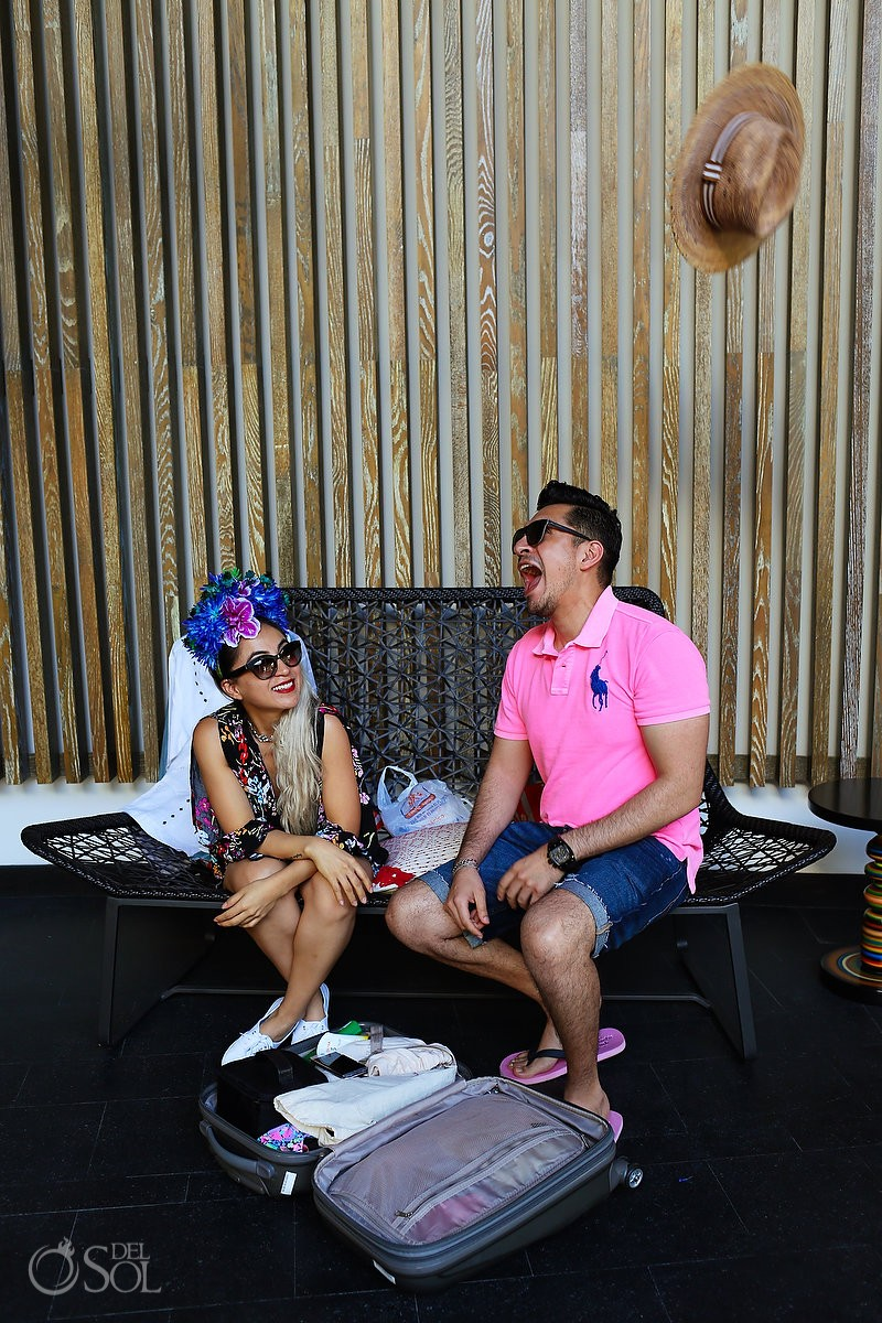 tribute to the iconic style of Frida Khalo, Diana Villalobos Barrera, Andaz Mayakoba Riviera Maya Mexico