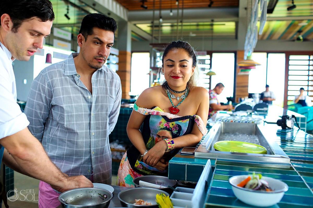 Mexican food, mexican designer Diana Villalobos Barrera, Andaz Mayakoba Riviera Maya Mexico