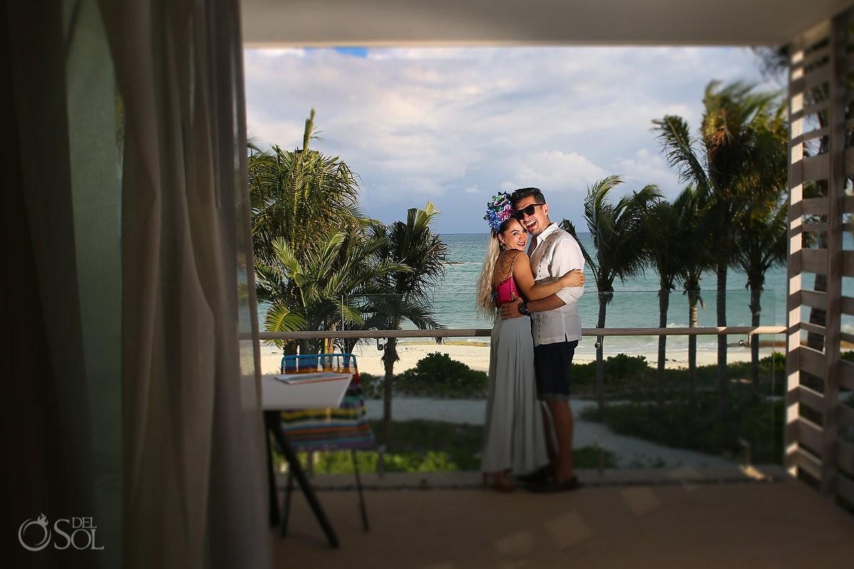 Hotel room view Andaz Mayakoba, Riviera Maya, Mexico