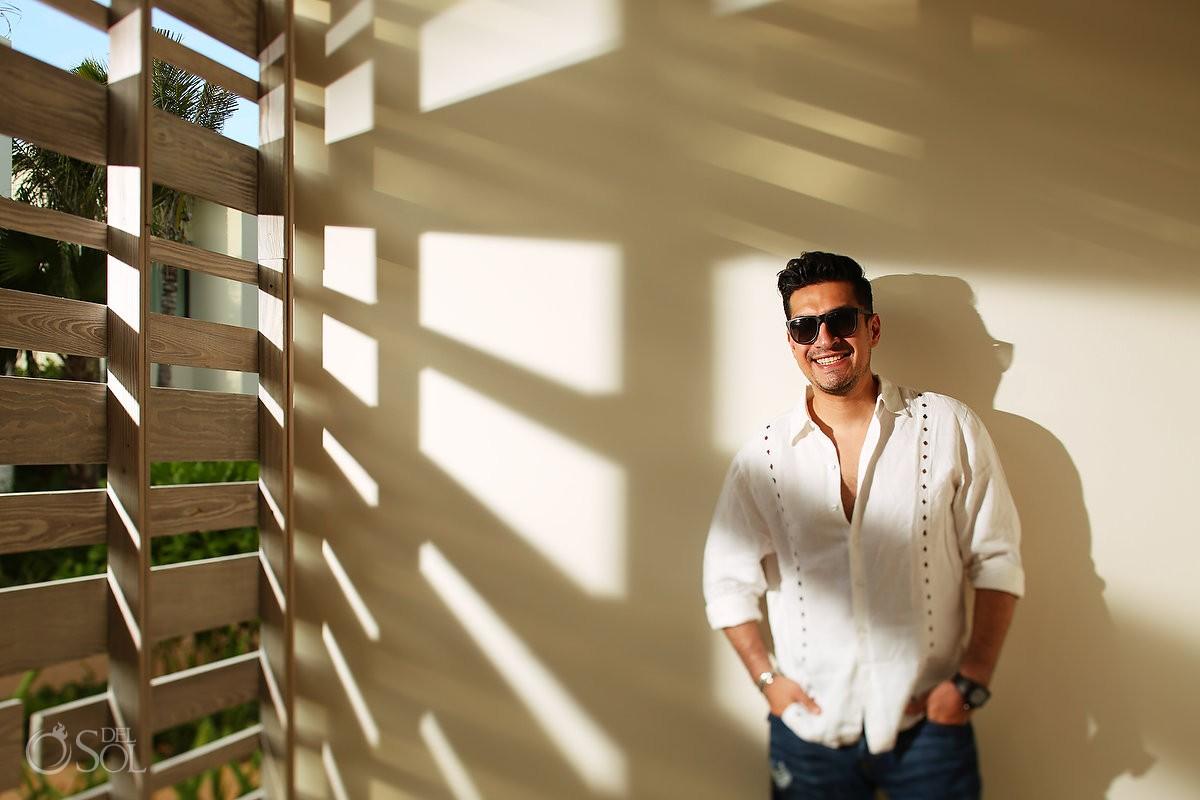 sun light, artistic portrait Andaz Mayakoba Riviera Maya Mexico