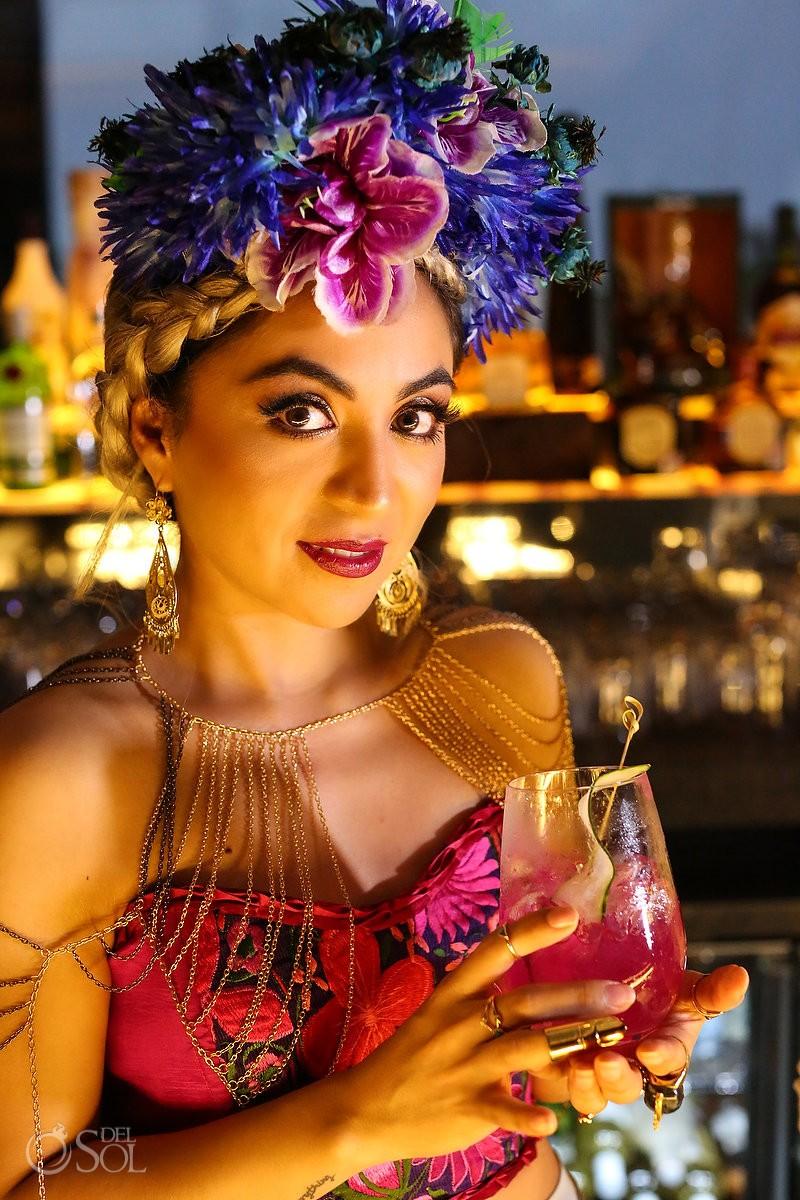 Mexican colors Diana Villalobos Barrera, Andaz Mayakoba Riviera Maya Mexico
