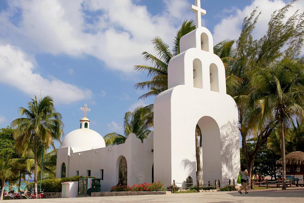 Playa del Carmen Weddings Chapel Capilla Nuestra Senora del Carmen