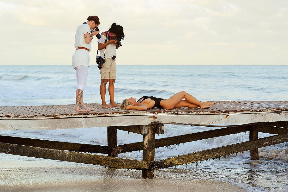 behind the scenes del sol photography Boudoir Photography Allison Dunbar Viceroy Riviera Maya