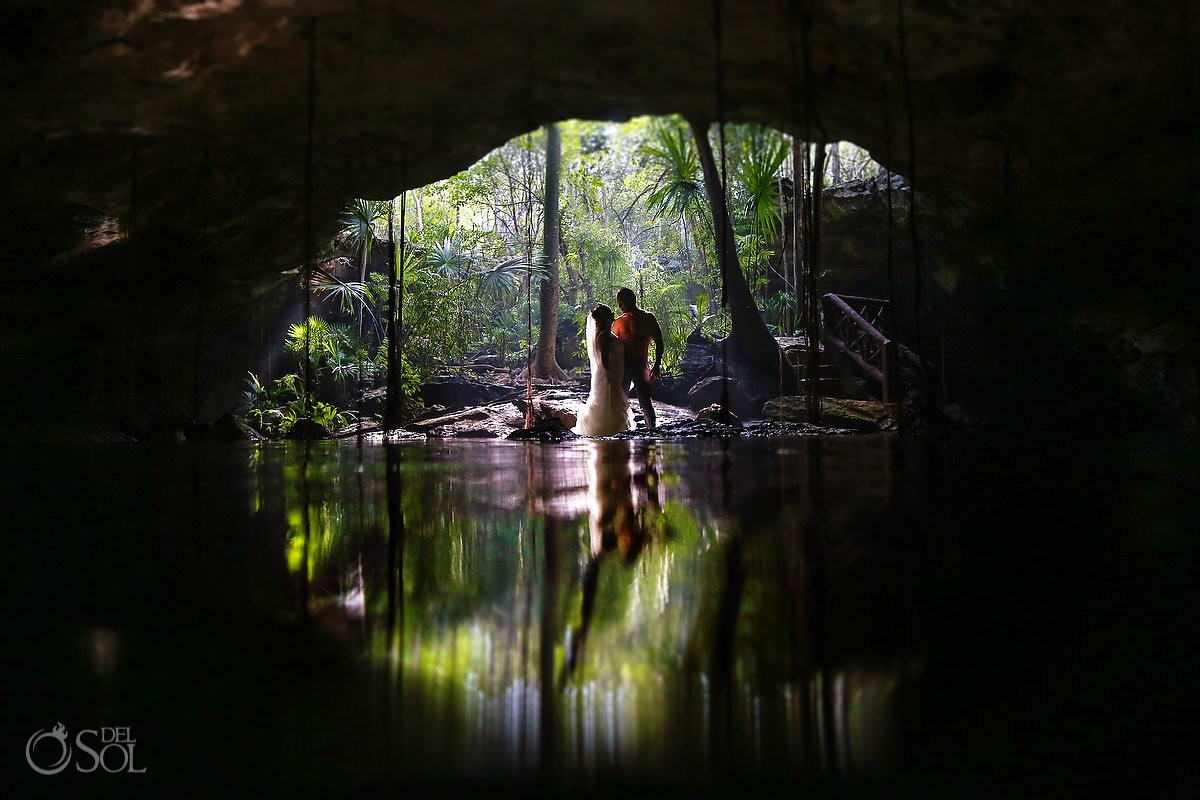 Best trash the dress ideas Cenote Riviera Maya
