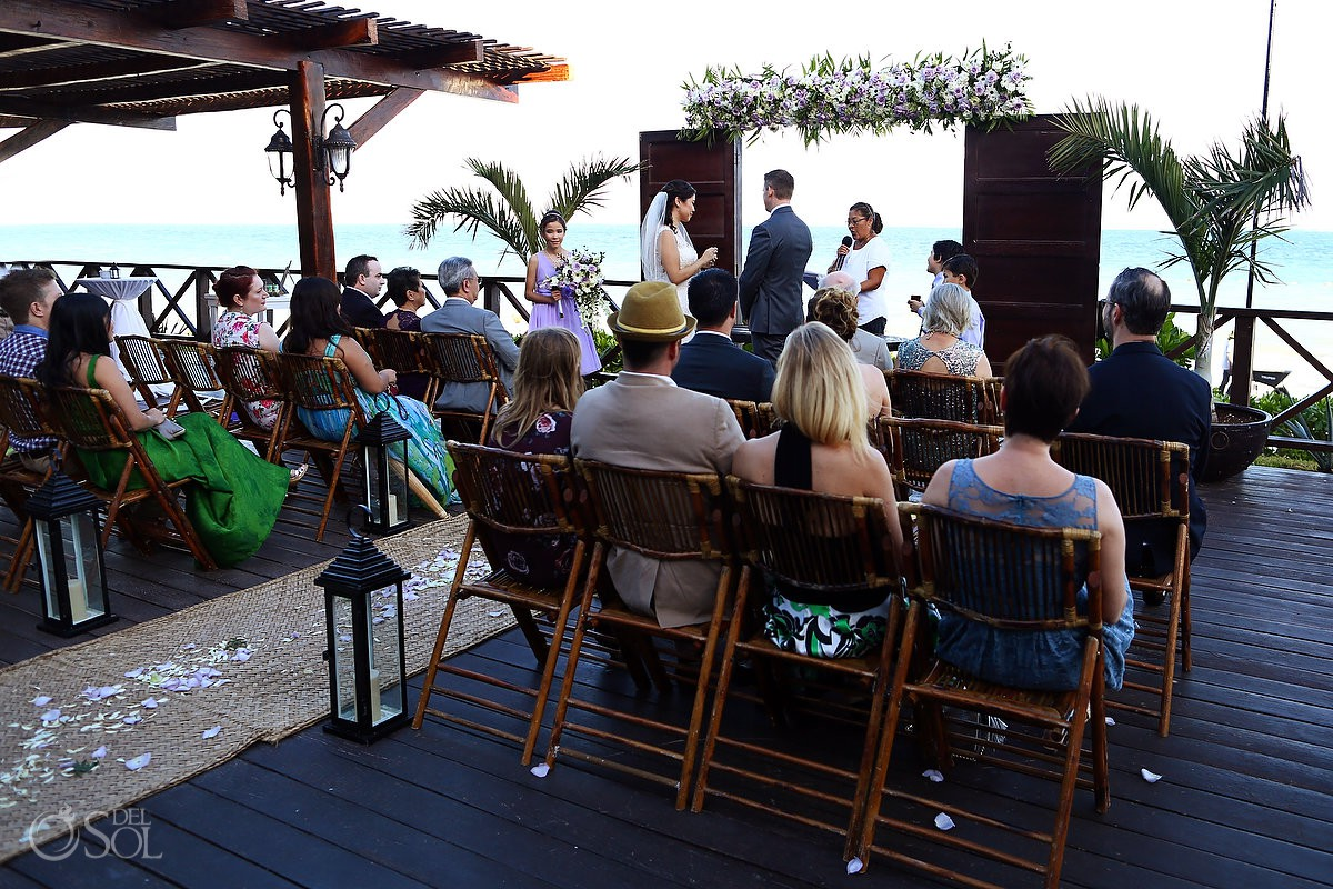 Now Sapphire Terrace Wedding ceremony photo