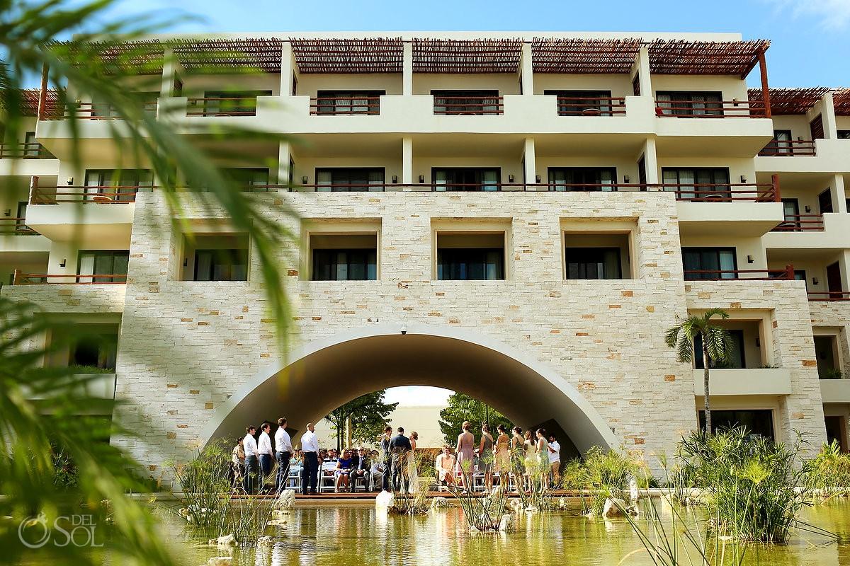 Best destination wedding venue ideas Secrets Akumal Riviera Maya Mexico.