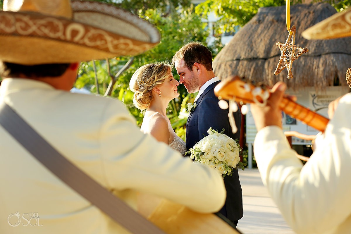 Mariachi sun and love destination wedding Secrets Akumal Riviera Maya Mexico