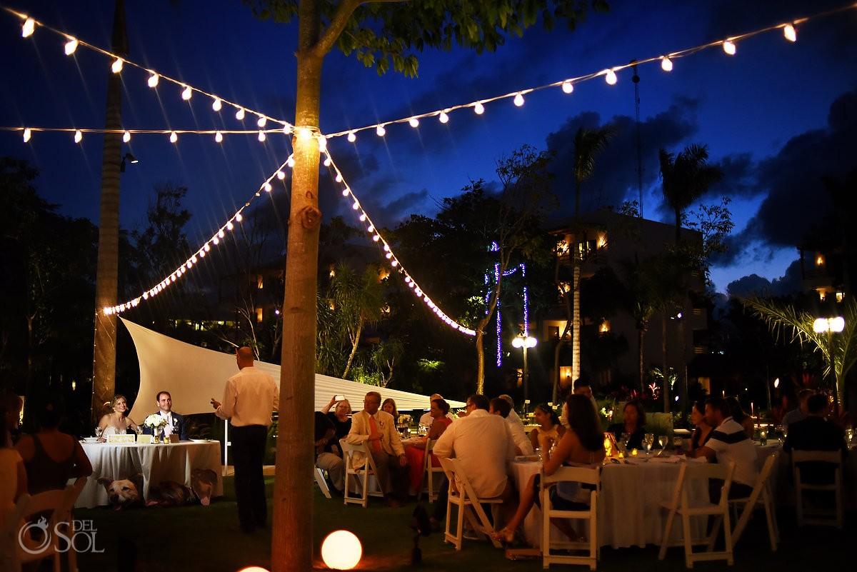 Destination wedding venue ideas Secrets Akumal Riviera Maya Mexico