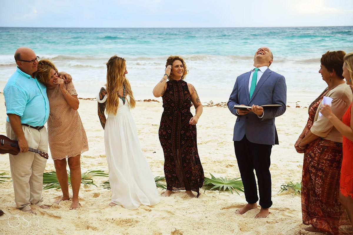 Fun vows beach best wedding location ideas Tulum Mexico