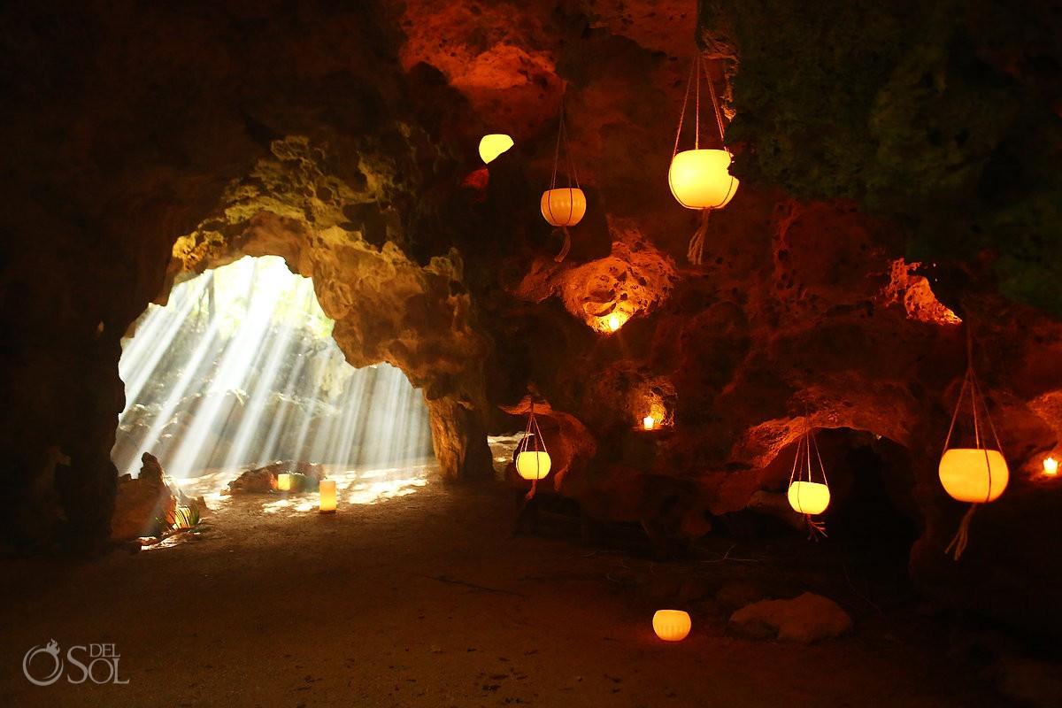 cenote Aktun Chen wedding venue ideas, Mexico