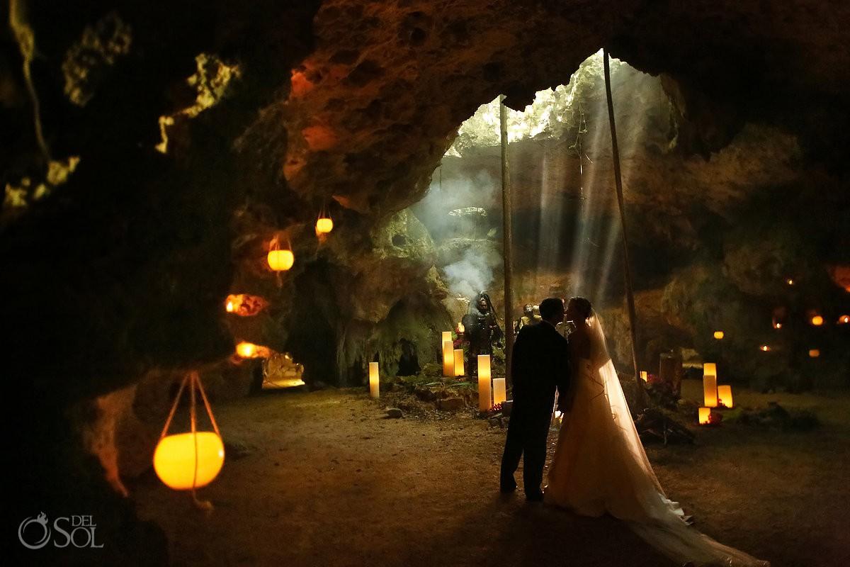 Romantic Surprise Vow Renewal Mexico