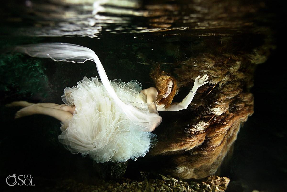 underwater trash the dress playa del carmen mexico