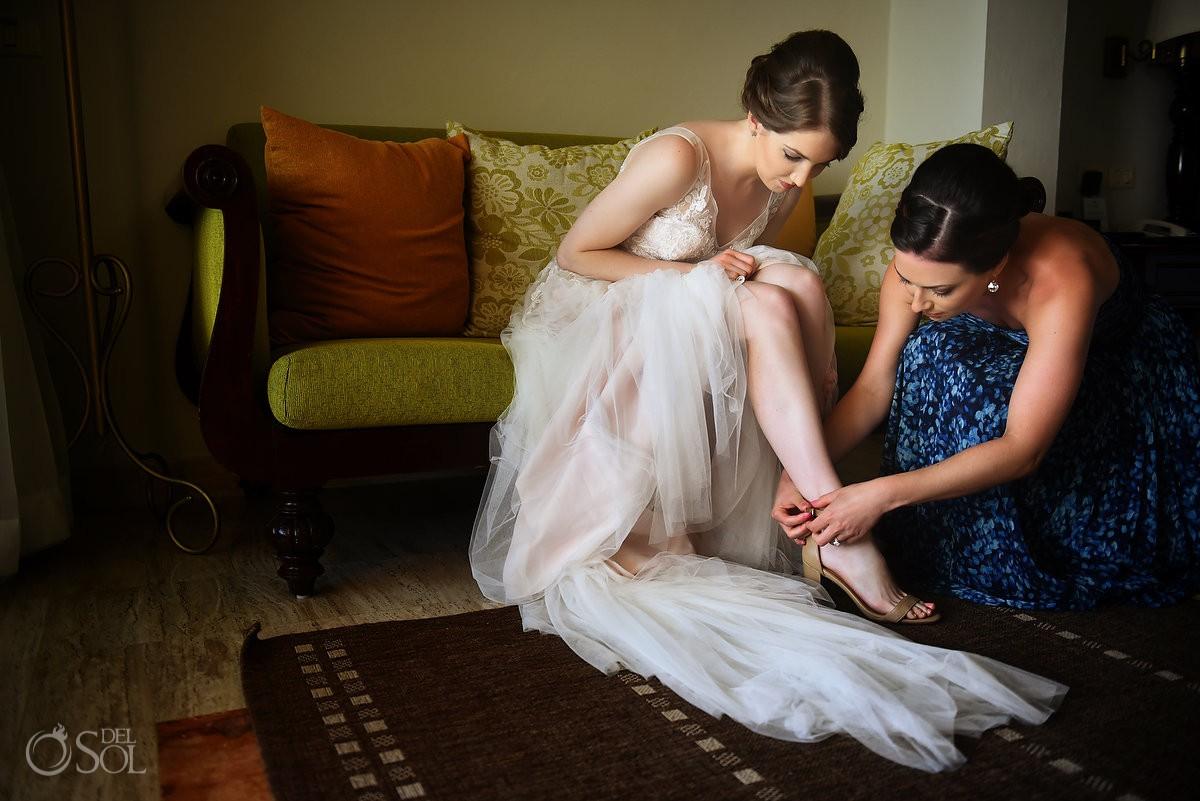 Riviera Cancun Wedding Bride Shoes Beautiful Light Sister Now Sapphire
