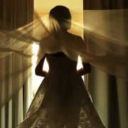 Destination Wedding bride ready veil beautiful light Dreams Riviera Cancun Resort Mexico