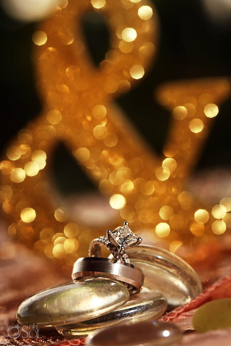 wedding rings Finest Resort Playa Mujeres Cancun Mexico