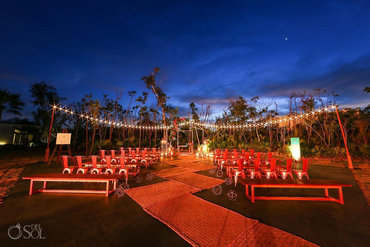 Andaz Mayakoba Wedding Photography Best destination wedding Gazebo set up ideas Playa del Carmen Mexico