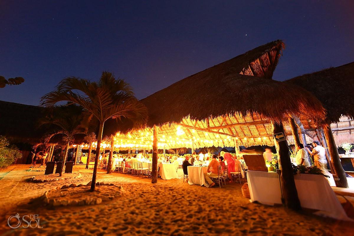 Blue Venado Beach Club Playa del Carmen Destination weddings Mexico