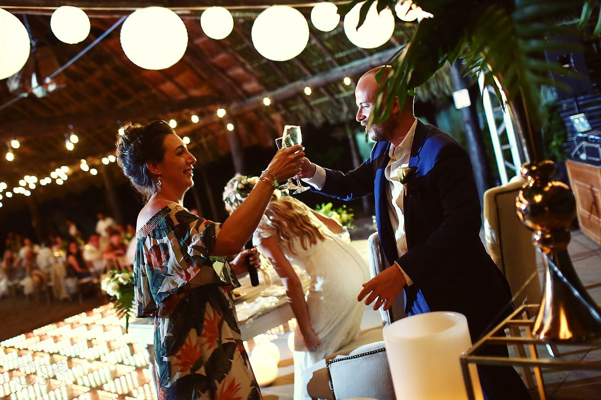 speech toast destination wedding Riviera Maya Mexico