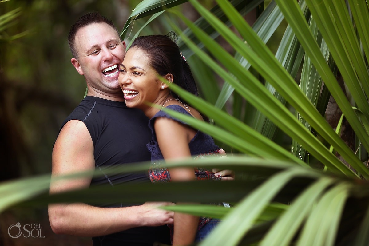 Love inside the jungle destination engagement Coba, Tulum México