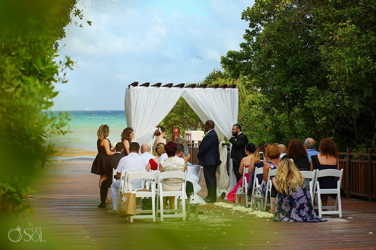Destination Wedding Ceremony Paradisus La Esmeralda Playa Del Carmen