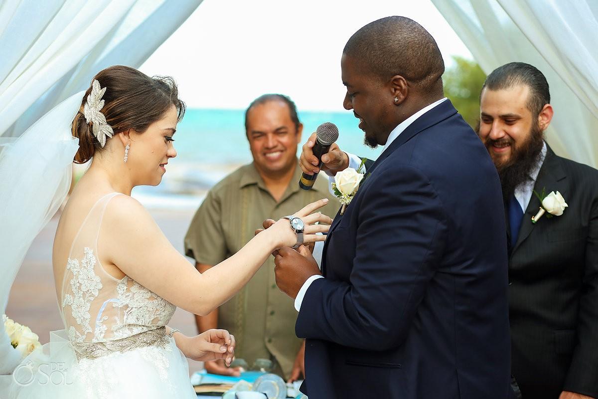 exchange watches wedding gifts ideas Paradisus La Esmeralda Playa Del Carmen