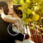 Bride and groom sunset portraits Destination Wedding Paradisus La Esmeralda Playa Del Carmen