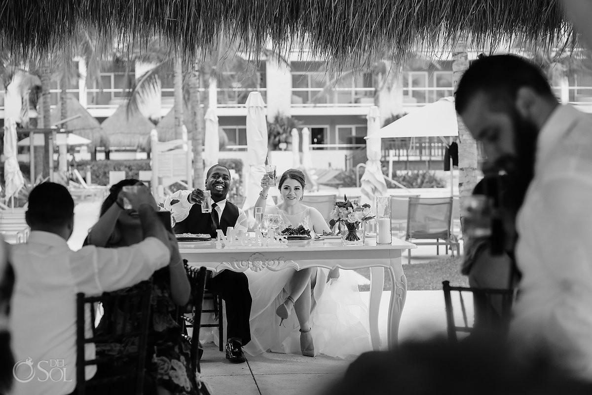 Wedding reception speech toast Destination Wedding Paradisus La Esmeralda Playa Del Carmen
