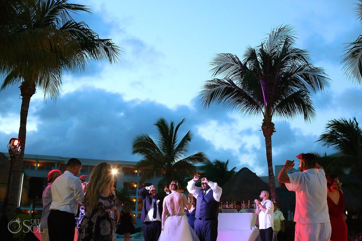 Wedding party Paradisus La Esmeralda Playa Del Carmen