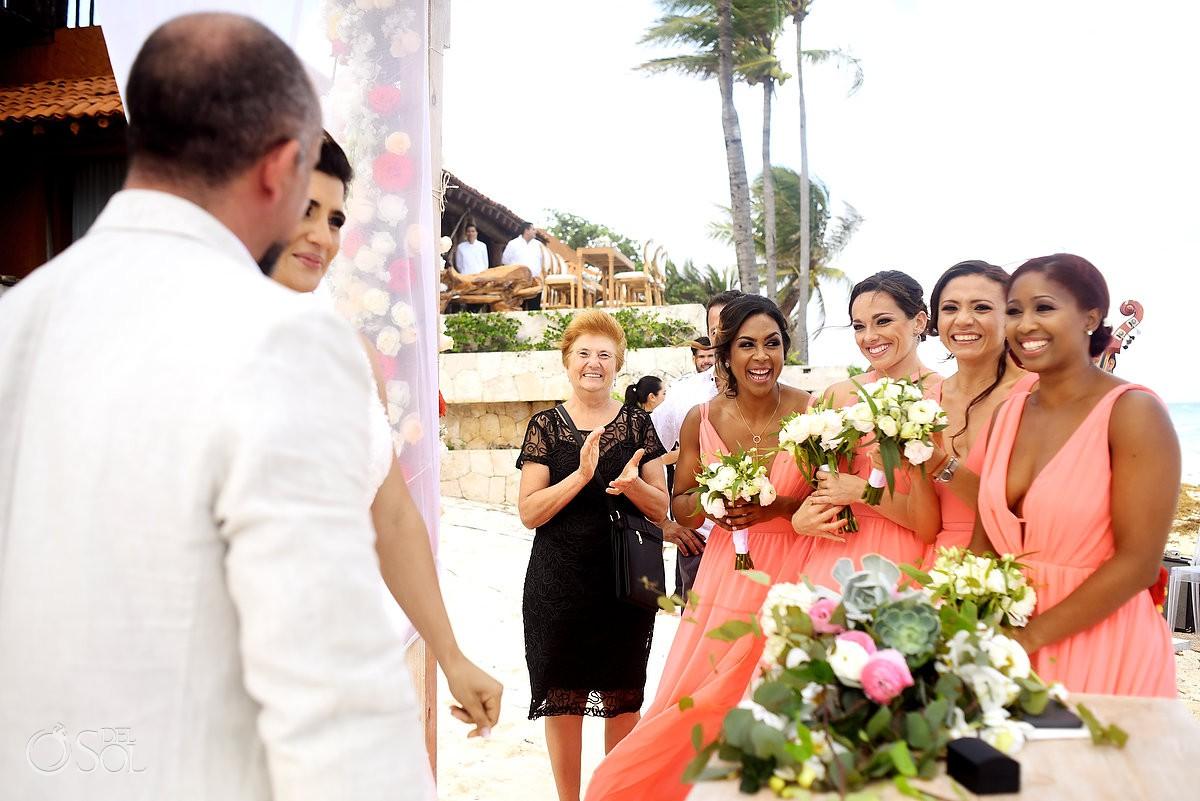 Wedding guest Casa Corazon Playa del Carmen, Mexico.