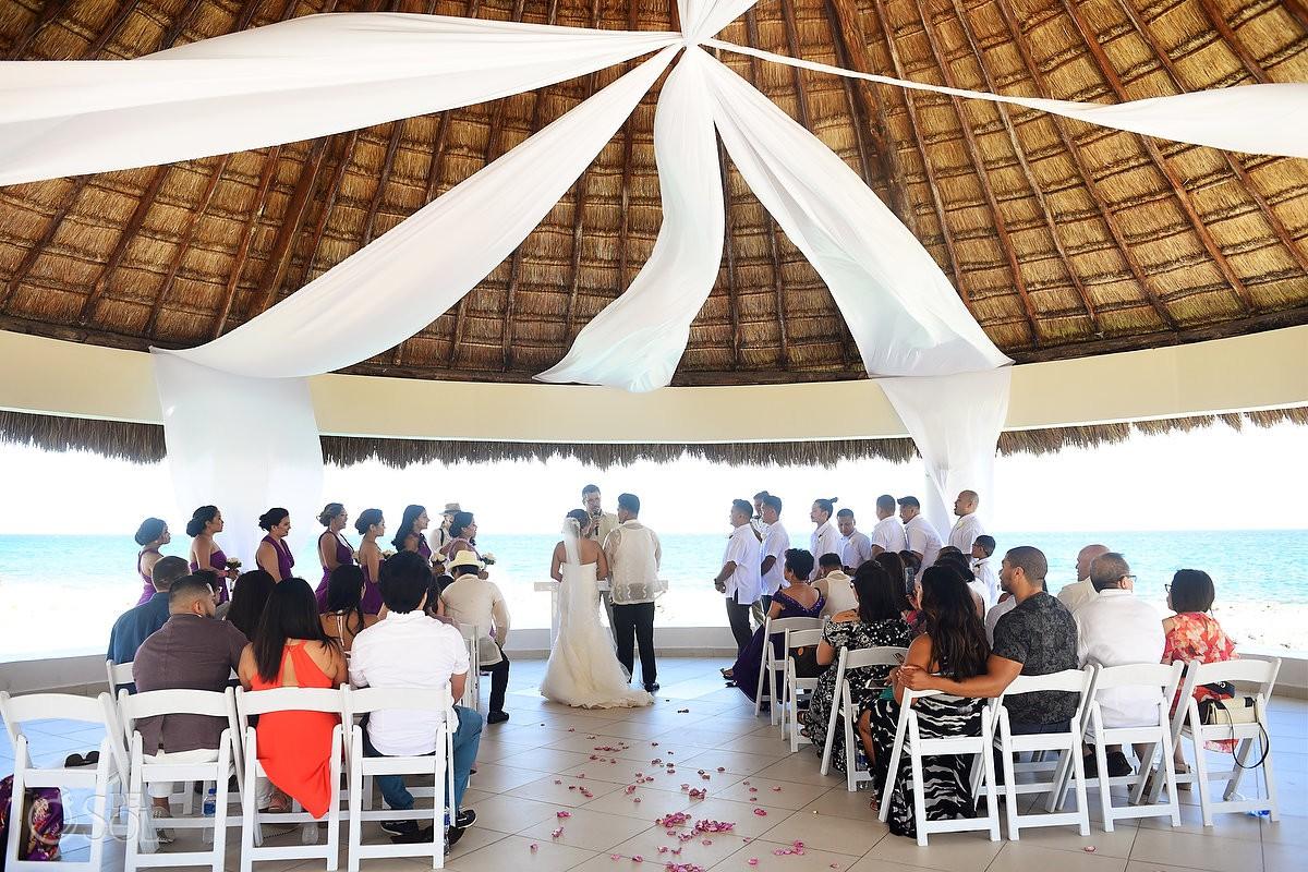 Hard Rock Riviera Maya Gazebo Wedding