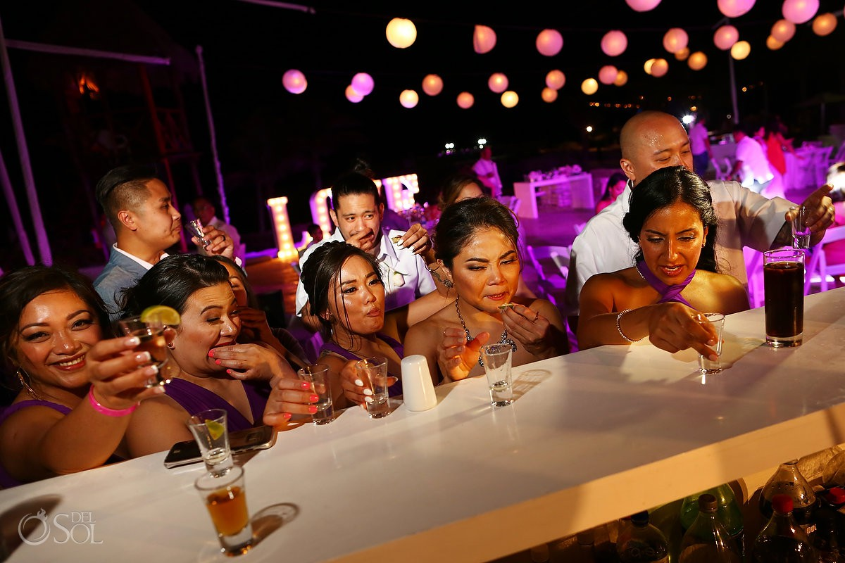 Wedding reception Hard Rock Hotel Riviera Maya Mexico