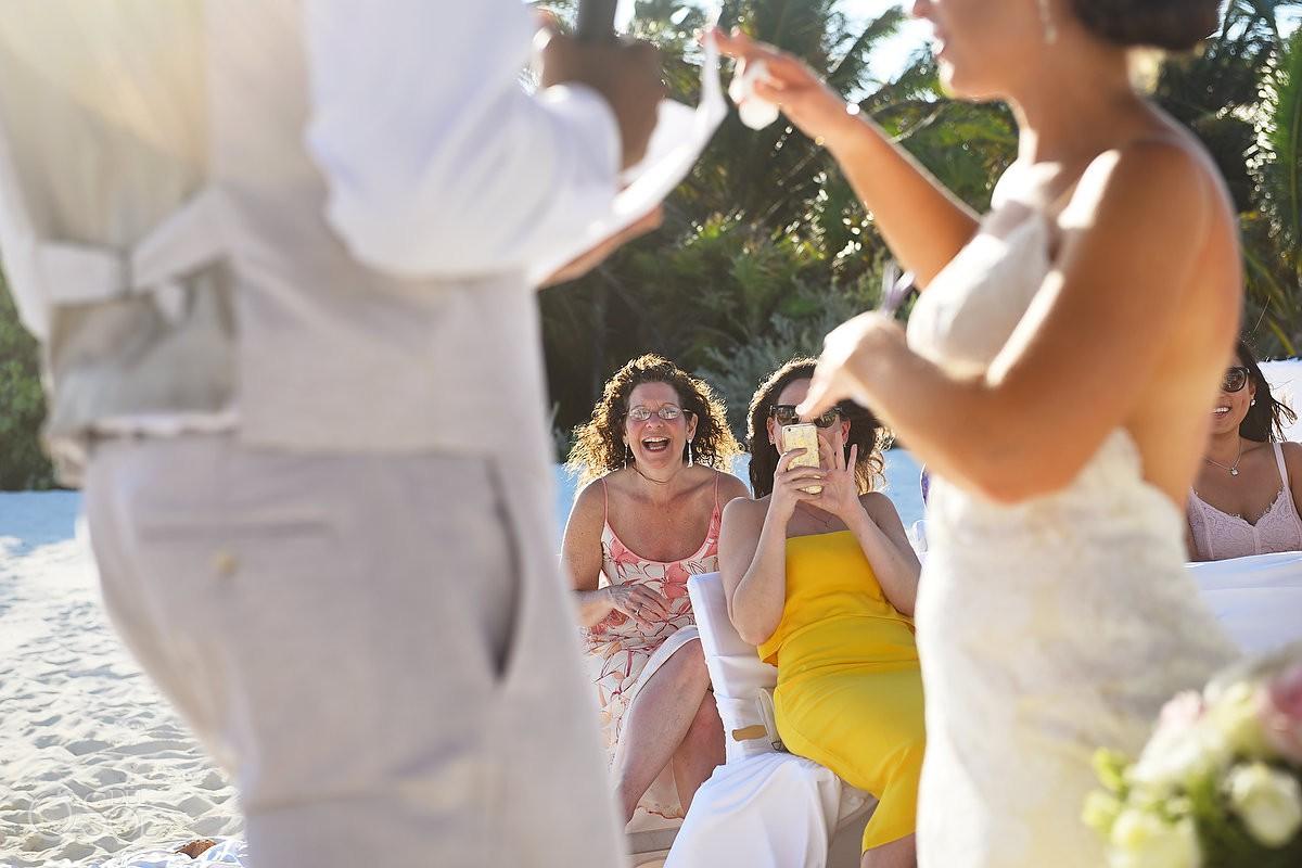 guest at wedding Secrets Maroma Beach Riviera Cancun