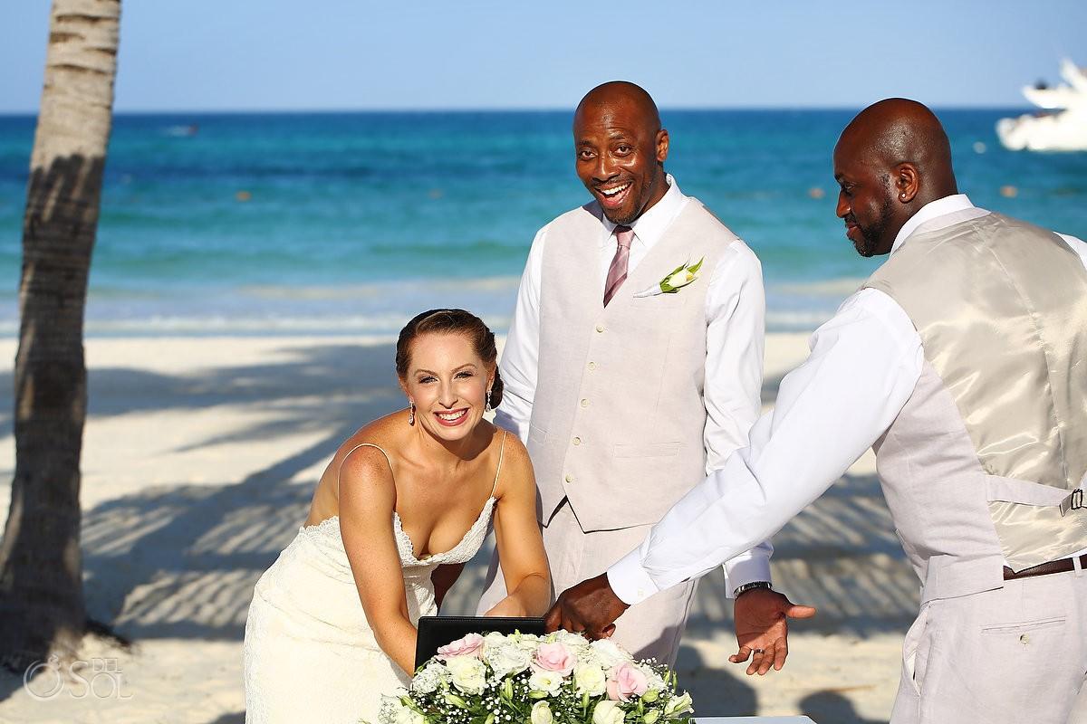 Secrets Maroma Beach Riviera Cancun Wedding - Rachel and James