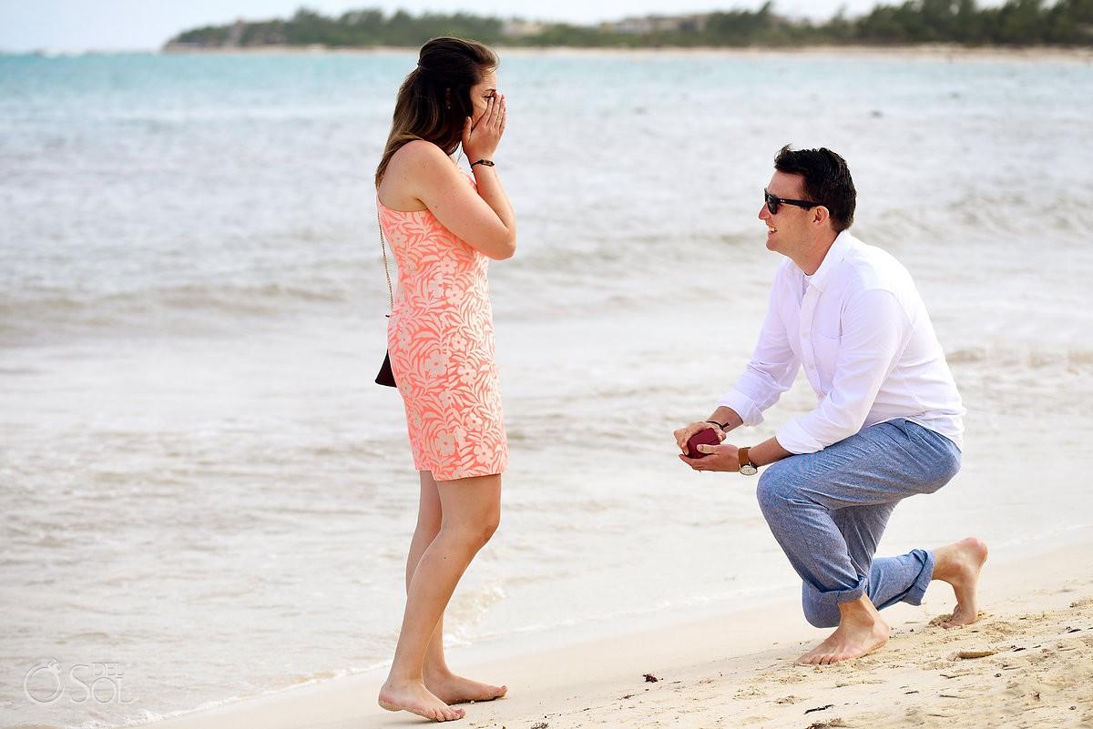 Paradisus Playa del Carmen Wedding Proposal Engagement Paradisus La Esmeralda