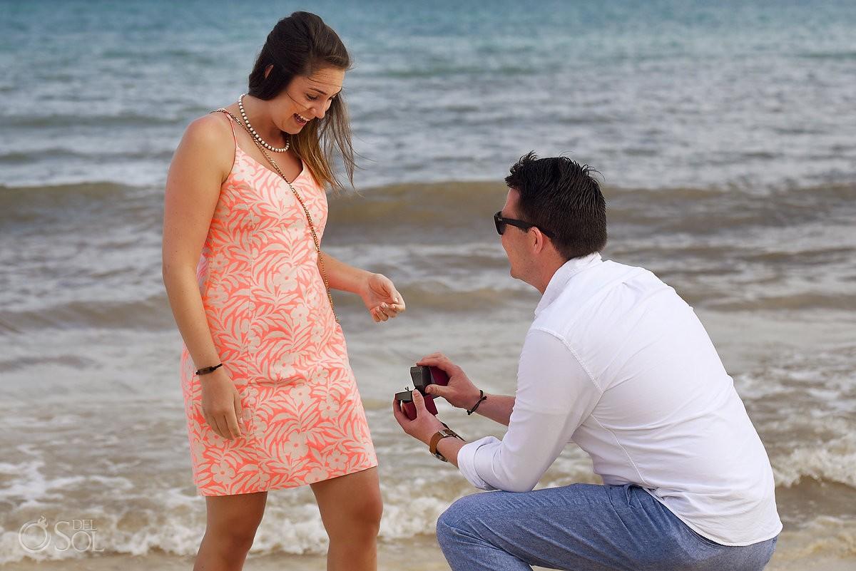 Paradisus Playa del Carmen Wedding Proposal