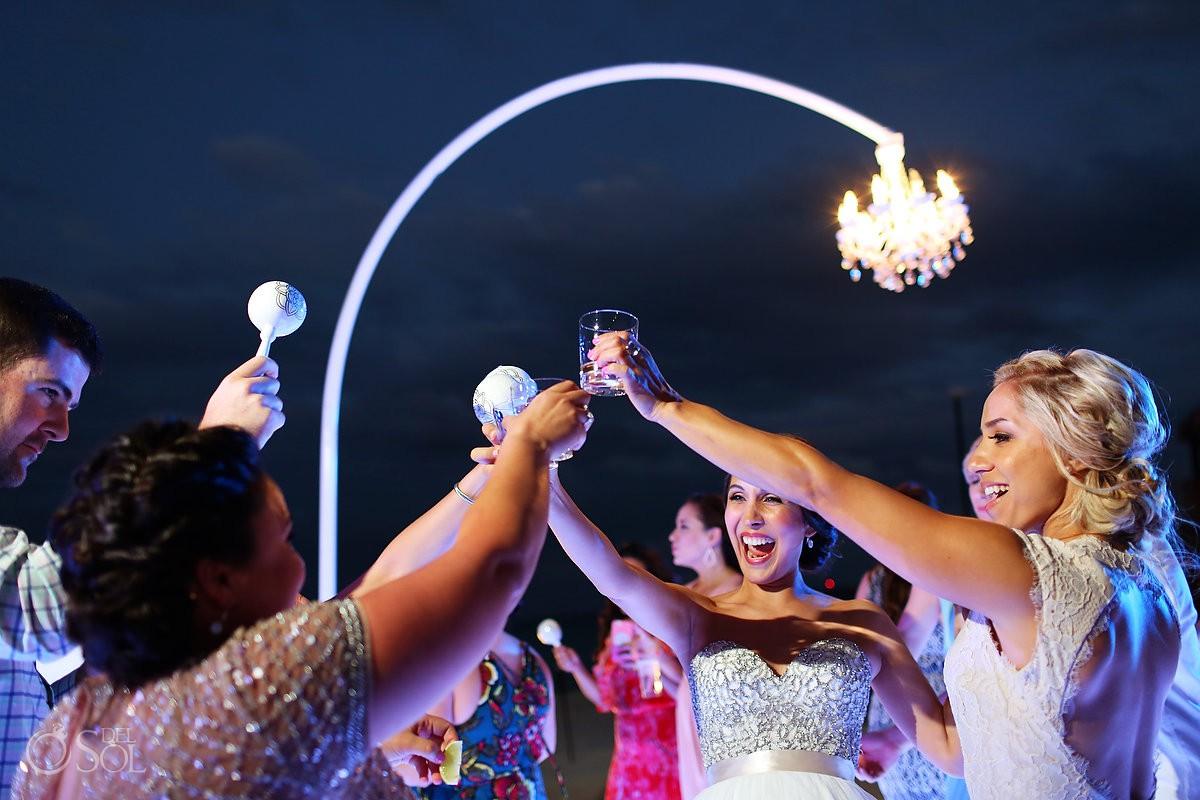 party destination wedding reception Grand Hyatt Playa del Carmen Mexico