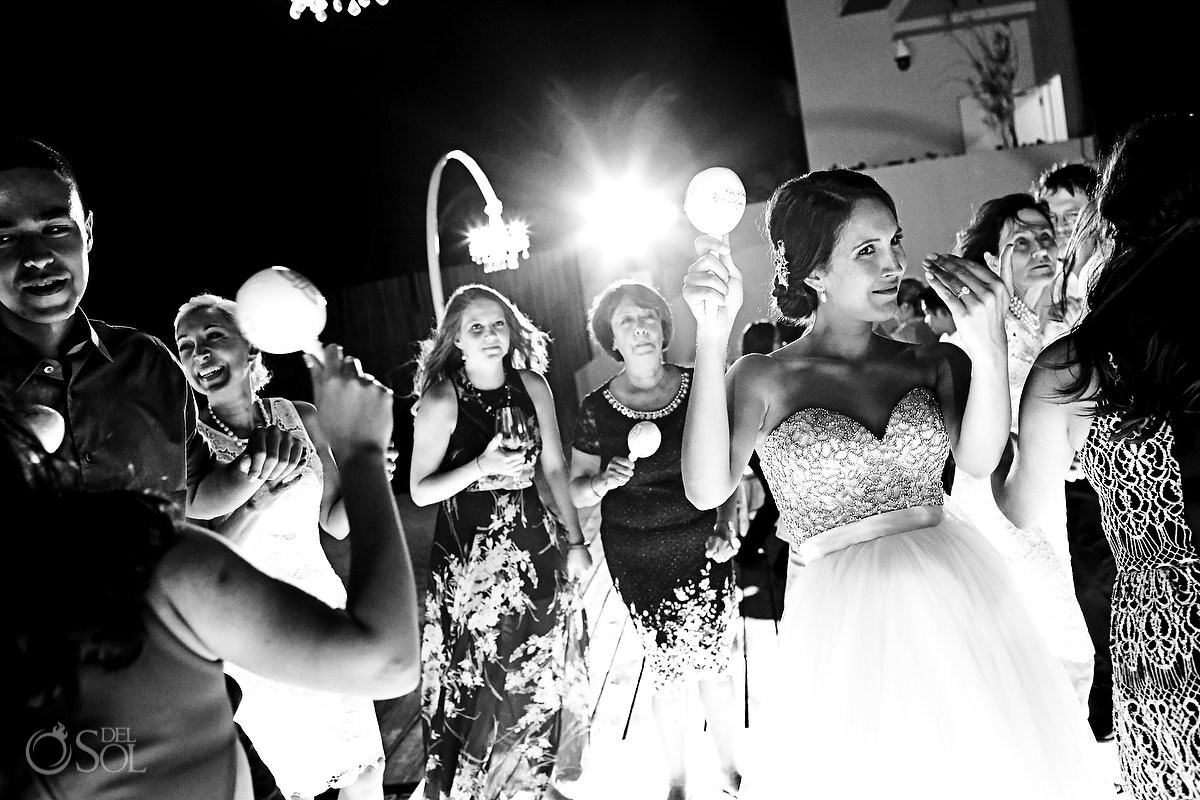 destination wedding reception Grand Hyatt Playa del Carmen Mexico