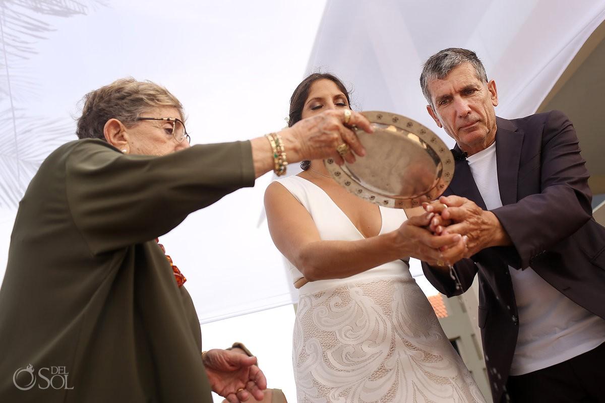 Ceremony rituals Destination wedding Akumal Punta Sur Riviera Maya Mexico