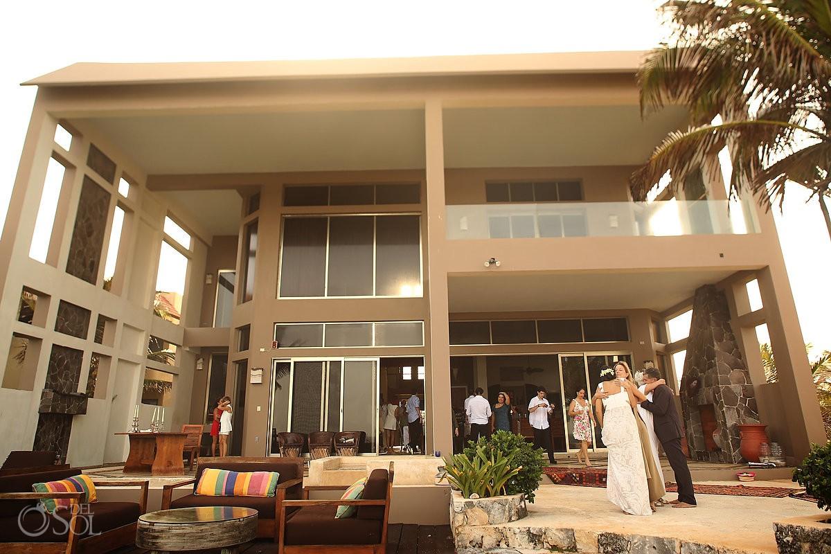 Destination Wedding Venue Akumal Punta Sur Riviera Maya Mexico