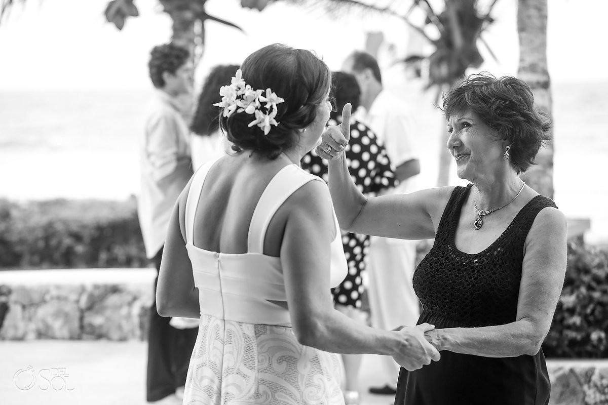 guest love Akumal wedding ceremony Punta Sur Riviera Maya Mexico