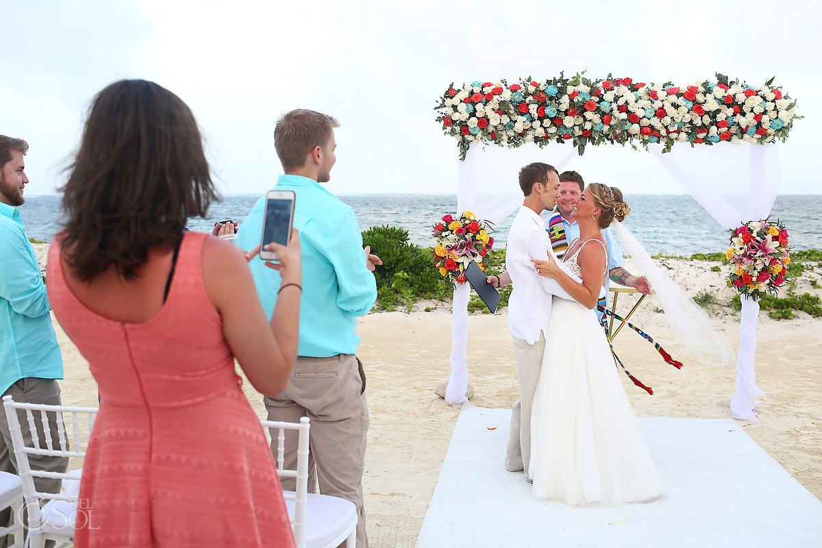Breathless Riviera Cancun Wedding photographer