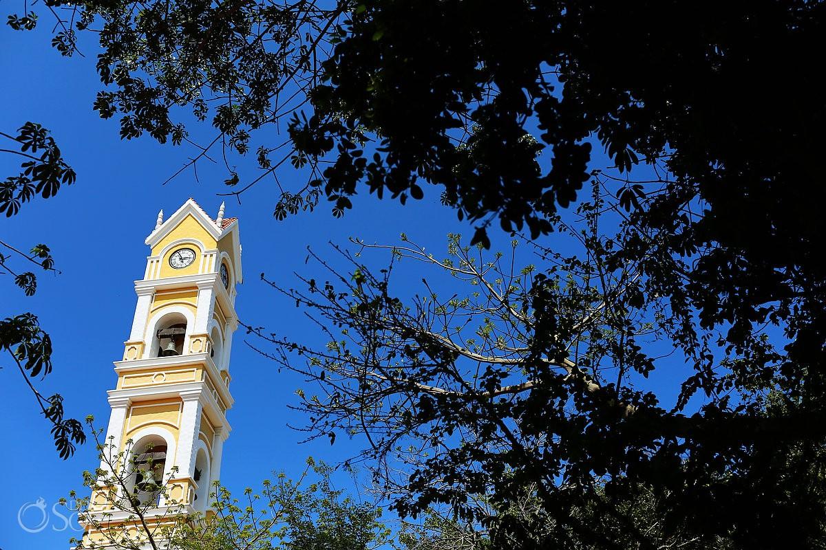 Boda de Destino iglesia Xcaret Nuestra señora de Guadalupe Riviera Maya Mexico